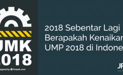 Berapa Kenaikan UMP 2018 di Indonesia?