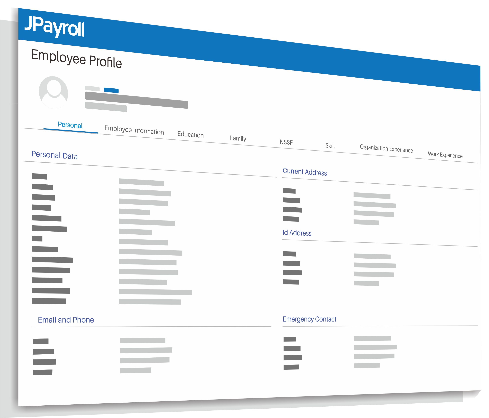Dashboard Profil Karyawan